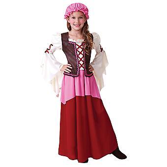 Bristol Novelty Girls Little Tavern Girl Costume