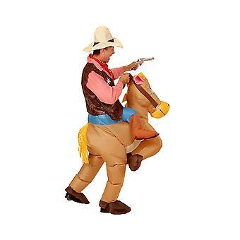 Horse-Adult (Luftblåst uppblåsbar kostym hatt)