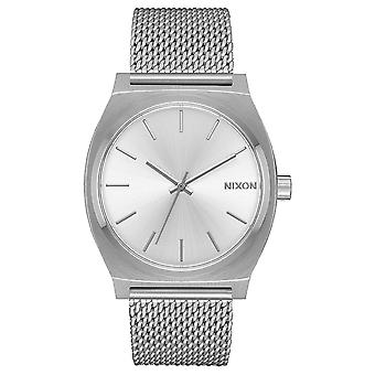 Nixon mini time teller watch for Women Analog Quartz with stainless steel bracelet A11871920