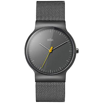 Braun classic slim Quartz Analog Man Watch with Titanium BN0211TIMHG Bracelet