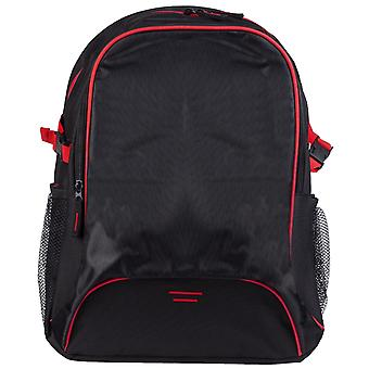Miscellaneous Other Unisex SH7677 Osaka Backpack Black/Red