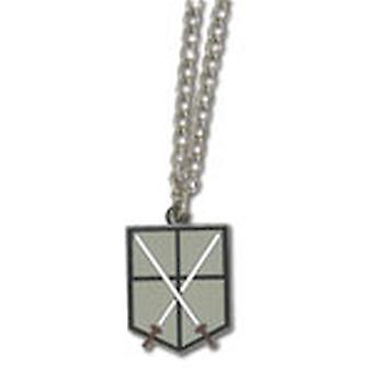 Necklace - Attack on Titan - New 104th Cadet Corps Anime Licensed ge35637