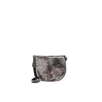 Fritzi aus Preussen POLLY Women's Brown shoulder bag (Dark Bronze 166/Seal)) 6.5x19x20.5 cm (B x H x T)