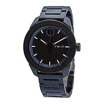 Movado Bold Blue-Tone Mens Watch 3600607