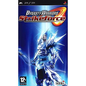 Dynasty Warriors Strikeforce (PSP)-fabriek verzegeld