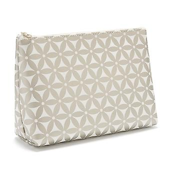 'victoria green' mia large makeup bag in starflower gold
