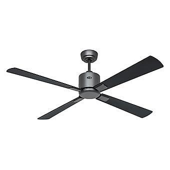 Loft fan ECO NEO III 132 BG sort/teak