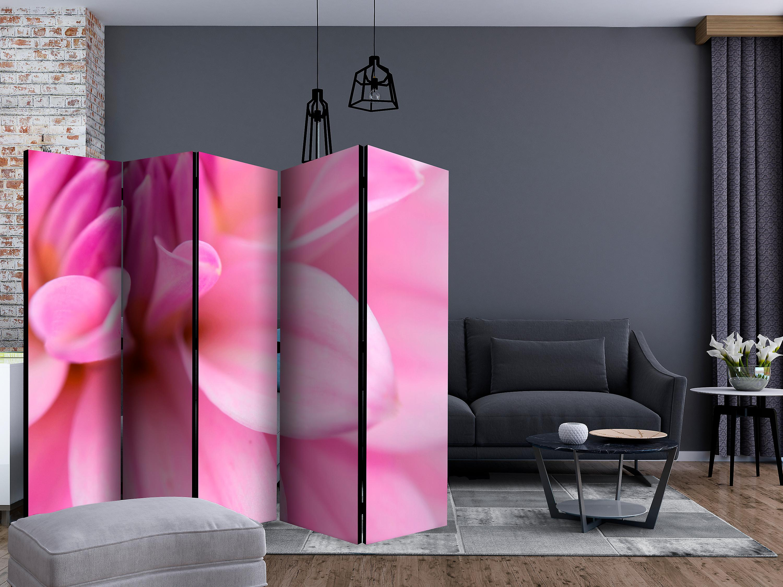 Paravent 5 volets - Flower petals - dahlia [Room Dividers]