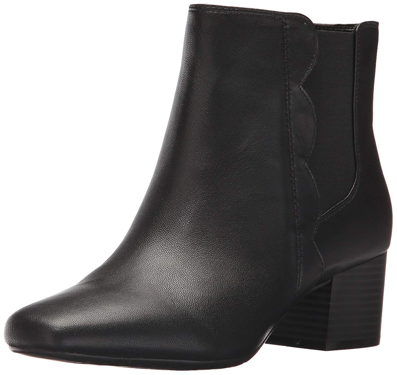 Bandolino Damskie floella Fabric Almond Toe Ankle Fashion Boots zd542