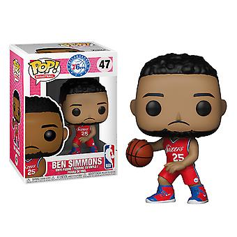 NBA Sixers Ben Simmons Pop! Vinyl