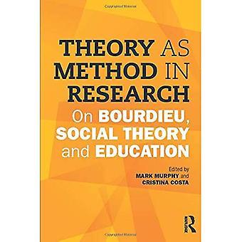 Theorie als Methode in der Forschung: Bourdieu, Sozialtheorie und Bildung