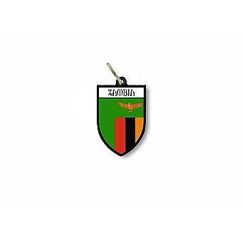 مفتاح الباب العلم جمع قمة مدينة زامبيا