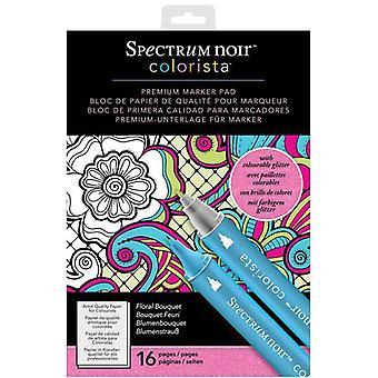 Spectrum Noir Colorista A4 marker pad-bloemen boeket