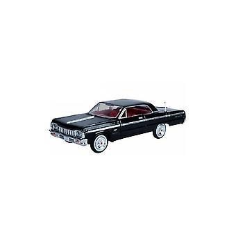 MotorMax American Classics - 1964 Chevy Impala Black  1:24