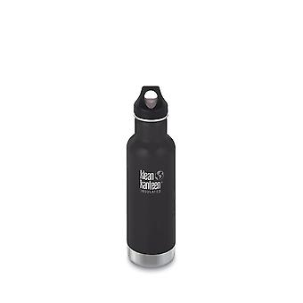 Klean Kanteen 592ml Classic Vac Insulated Bottle Shale Black