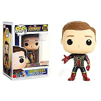 Vengadores 3 Infinity War Iron Spider Unmasked US Pop! Vinilo