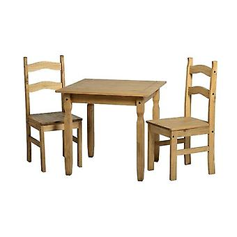 Rio Dining Set Distressed gewachste Kiefer
