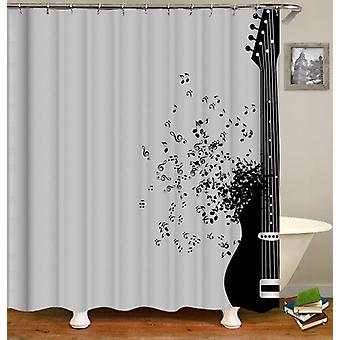 Guitar Is Life Shower Curtain
