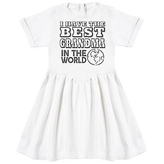 Ik heb de beste oma in de wereld baby jurk