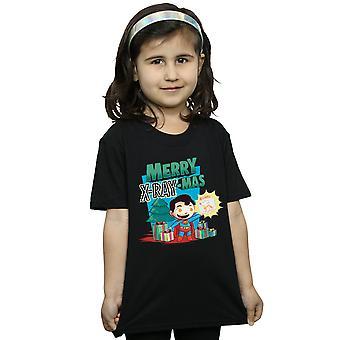 DC Comics meisjes Super vrienden vrolijk X-RayMas T-shirt