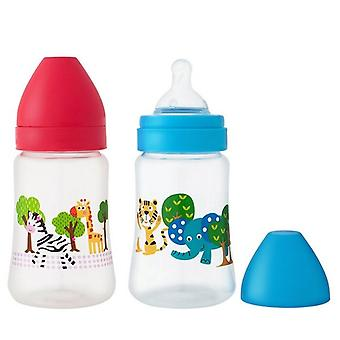 4 Pack, baby bottles with colikallay 250 ml/pcs