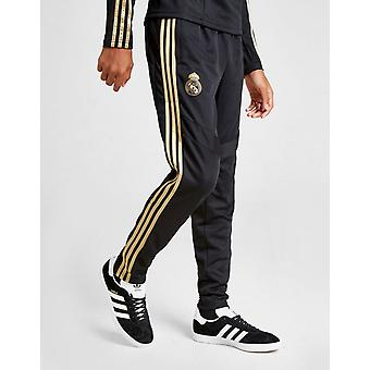 Uusi Adidas Boys ' Real Madrid Training Track housut musta/kulta