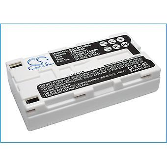 Baterie pentru Topcon BT-30 BT-62Q BT-66Q FC100 FC-100 FC-200 FC2000 Sokkia SHC2500