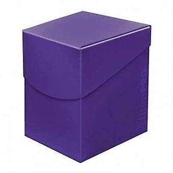 Ultra Pro 85692 Eclipse Pro 100 + dek Box-Royal Purple