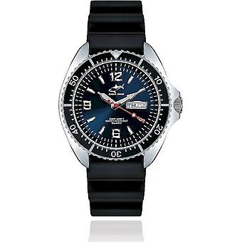 Chris Benz diver watch one CBO-B-KB-SW