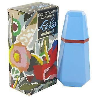 Lou lou eau de parfum spray med cacharel 418276 50 ml