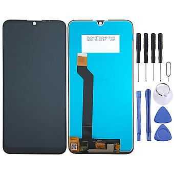 For Wiko View 3 Display Full LCD Unit Touch Spare Part Repair Black New