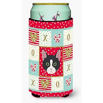 American Polydactyl Cat Tall Boy Beverage Insulator Hugger