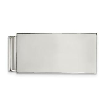 22.48mm Stainless Steel Polished Money Clip Jewelry Gifts for Men