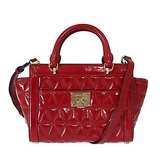 Michael Kors Red Vivianne Patent Bag