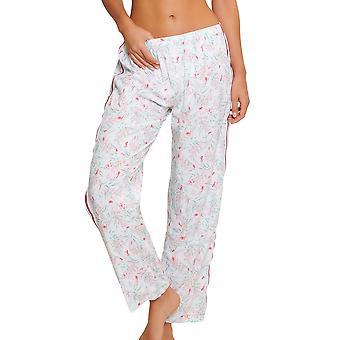 LingaDore 5025LP-17 Women's Eularia White Floral Print Pyjama Pant
