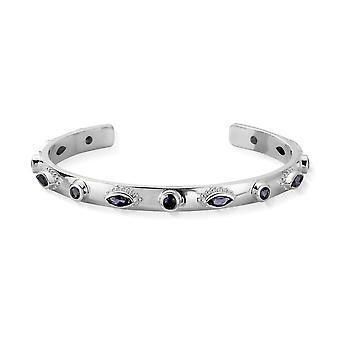 ChloBo Silver & Iolite Cosmic Connection Bangle