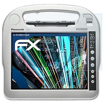 atFoliX Glass Protector compatible with Panasonic ToughBook CF-H2 9H Hybrid-Glass
