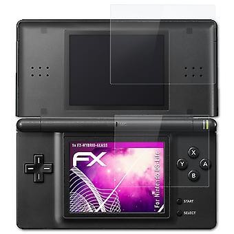atFoliX lasi suojelija yhteensopiva Nintendo DS-Lite lasi suojaava elokuva 9H hybridi-lasi