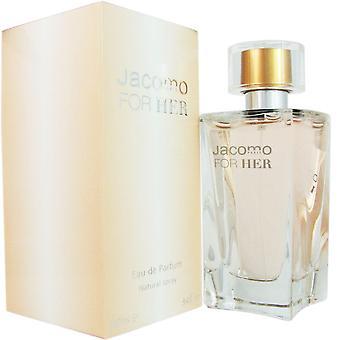 Jacomo for her for women by jacomo 3.4 oz eau de parfum spray