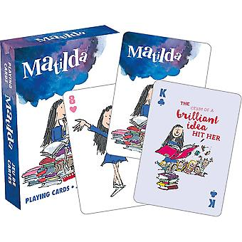 Roald dahl - matilda playing cards