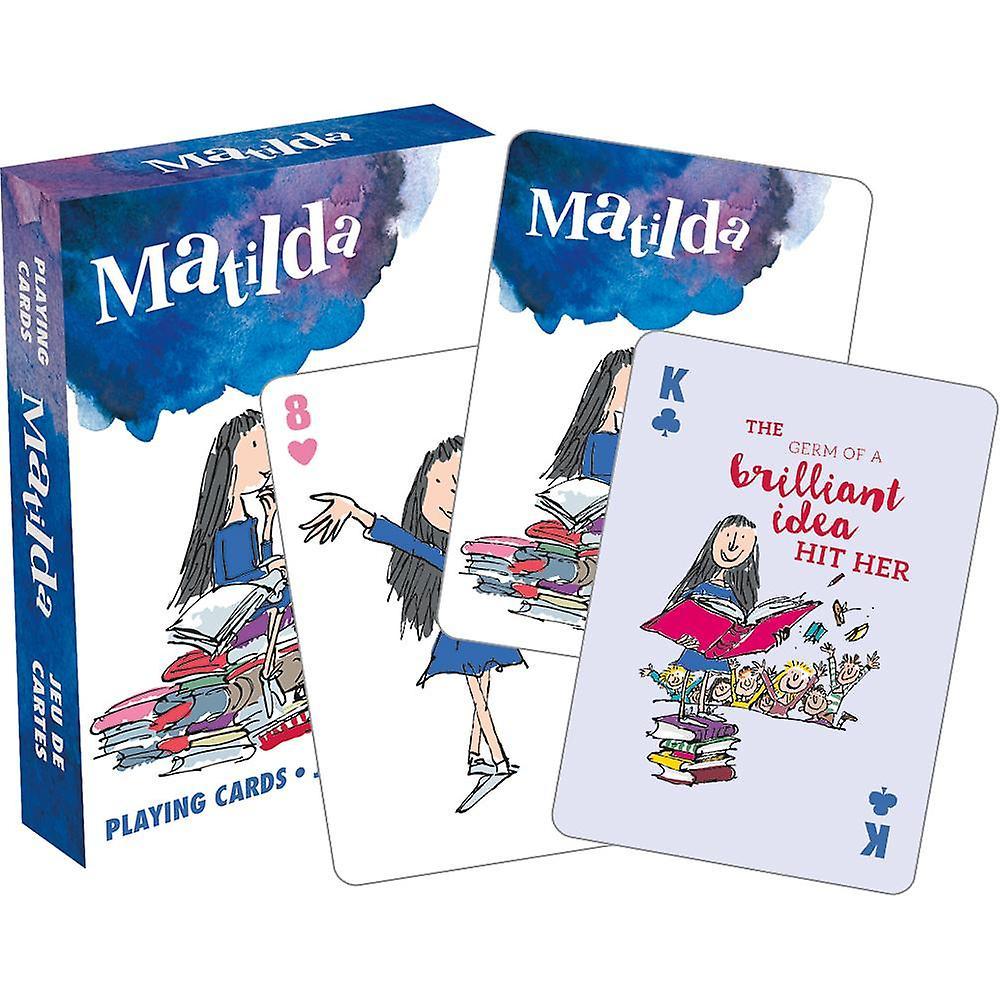 Roald dahl - matilda playing cards