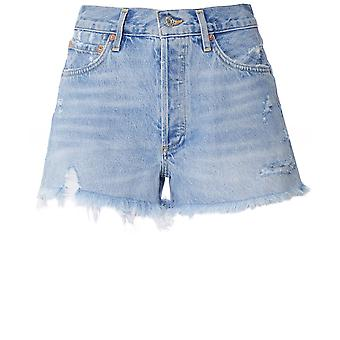 AGOLDE Parker Vintage Cut Off Denim Shorts