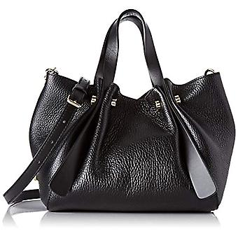 Borbonese Aspen Bag Small C/t Black Women's Shoulder Bag 22x16x13 cm (W x H x L)