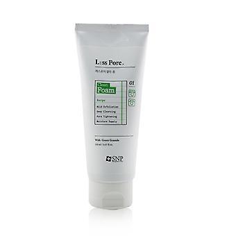 Espuma limpa de poros sem poros Snp - 150ml/5.07oz