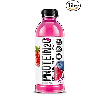 Protien-2-0 Blueberry Raspberry 15% Protein -( 500 Ml X 12 Pack )
