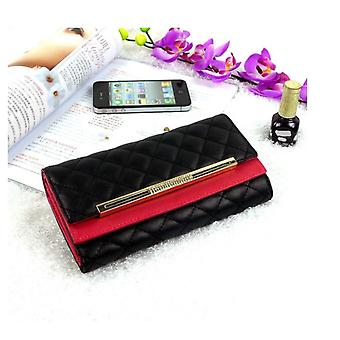 Womens Leather Wallet - Classic Style - Black