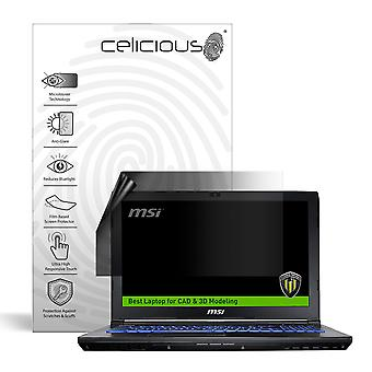 Celicious Privacy Lite 2-Way Anti-Glare Anti-Spy Filter Screen Protector Film Compatible with MSI Workstation WE62 7RJ