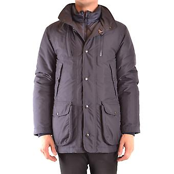 Fay Ezbc035065 Men's Blue Nylon Outerwear Jacket