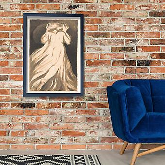 William Blake - Flee Poster Print Giclee