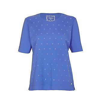 TIGI Blue Diamante Top